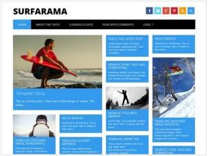 Surfarama theme for WordPress