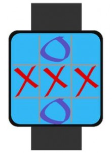 Tic Tac Toe android wear game