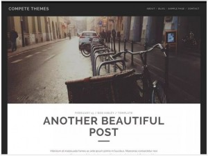 Tracks WordPress themes for Photography
