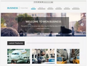 WEN Business theme for WordPress