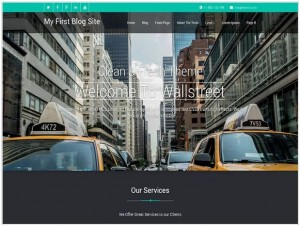 Wallstreet WordPress Corporate Themes