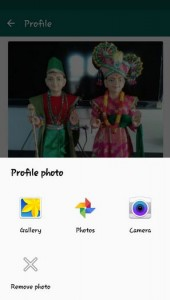 How to Change WhatsApp Profile Picture in android