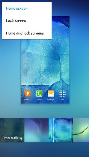 How To Change Wallpaper On Android Home Screen Lock Screen