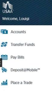 USAA insurance app for Windows