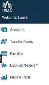 USAA insurance app for Windows