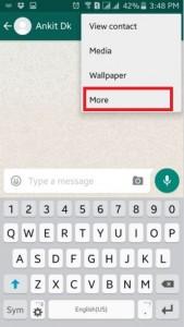 block WhatsApp contact android lollipop