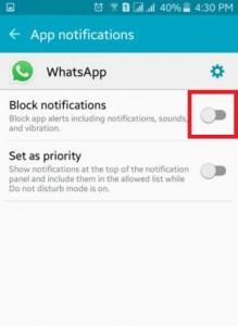 block app notifications on android lollipop