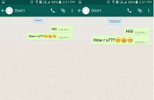 change WhatsApp font size for android phones