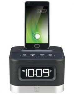 iHome Android Alarm Clock Speaker Dock