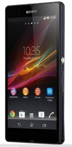 Sony Xperia Android phone