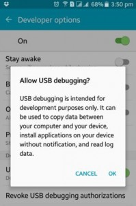 How to enable usb debugging on lollipop (5.1.1)