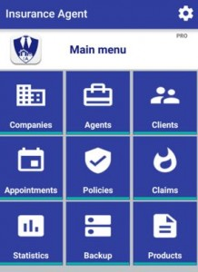 Insurance Agent app for android phone and tablet