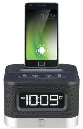 Ihome Alarm Clock Docking Station For Android