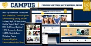 Campus multipurpose wordpress theme 2016