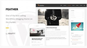 Feather best magazine WordPress themes 2016