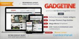 Gadgetine magazine WordPress themes 2016