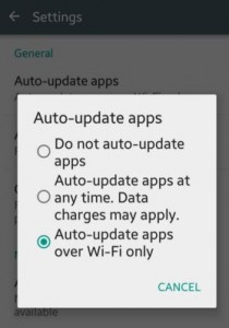 How to disable automatic app updates in android lollipop