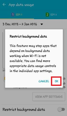how to reduce mobile data usage android lollipop, marshmallow