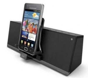 ILuv Mobiair Android charging dock with speakers 2016