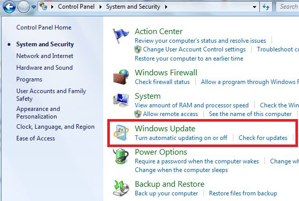 how to speed up windows 7 update