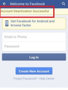 automatically reactivate your facebook account