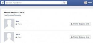 cancel send friend request on facebook