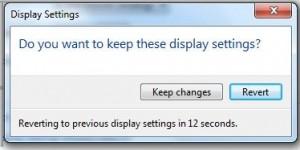 change dispaly settings in Windows 7
