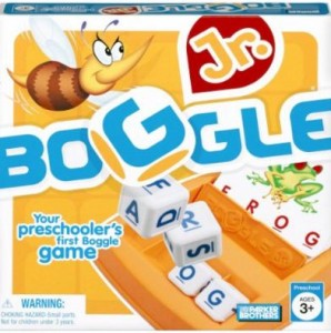 Boggle Junior game for adults