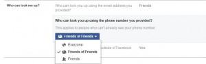 Hide facebook profile picture from public