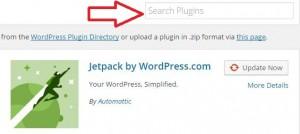 Search plugin for WordPress