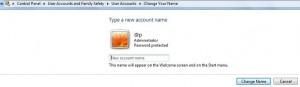 change account name windows 7