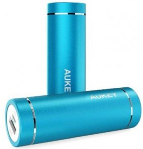 Aukey ultra portable power bank charger for android