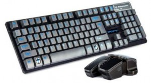 Emore wireless gaming keyboard and mouse combo