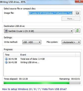 usb bootable windows 7 poweriso