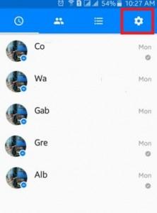 Open facebook messenger app android lollipop