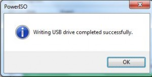 USB device successfully
