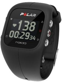 Polar android fitness tracker band with heart rate monitor