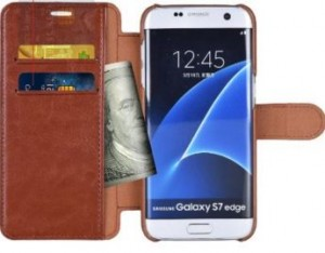 Samsung galaxy S7 edge leather case mulbess