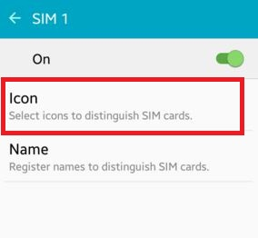 How to change SIM card icon android phone