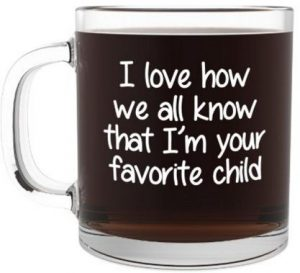 Funny glass coffee mug for mothers day gifts 2016