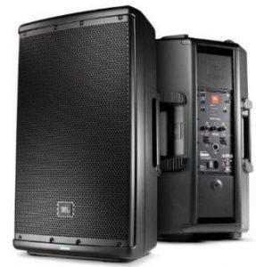 Portable speakers for DJ