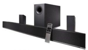 Vizio 5.1 channel sound home theater system