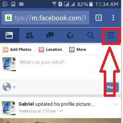 How to delete facebook entire chat history android phone