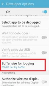 buffer-size-for-logging-android-phone