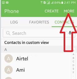 tap-on-more-under-phone-settings