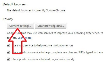 How to change plugin settings chrome: Android phone