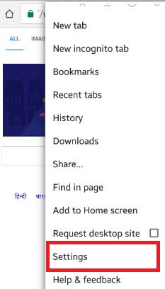 how to get settings on google chrome
