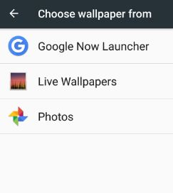 Choose wallpaper from device storage in Noguat