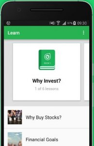 Invest in stock market app for android phone