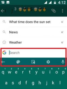 remove G button from Google keyboard